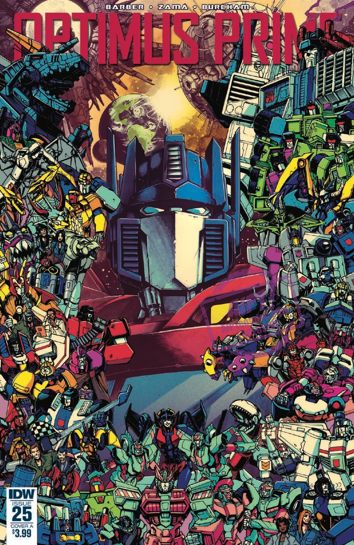 [EXCLUSIVE] IDW Preview: Optimus Prime #25 - the final issue!
