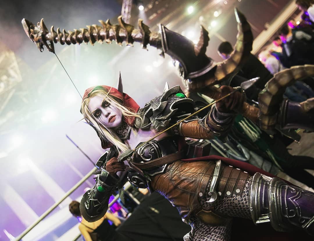 World of Warcraft: Sylvanas Windrunner cosplay by Winry
