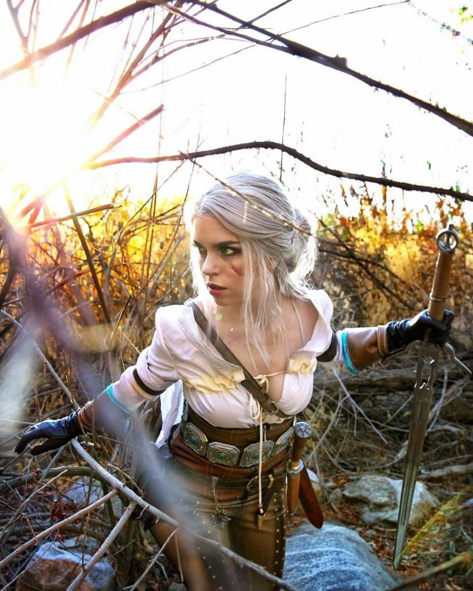 The Witcher: Ciri cosplay by ArmoredHeart