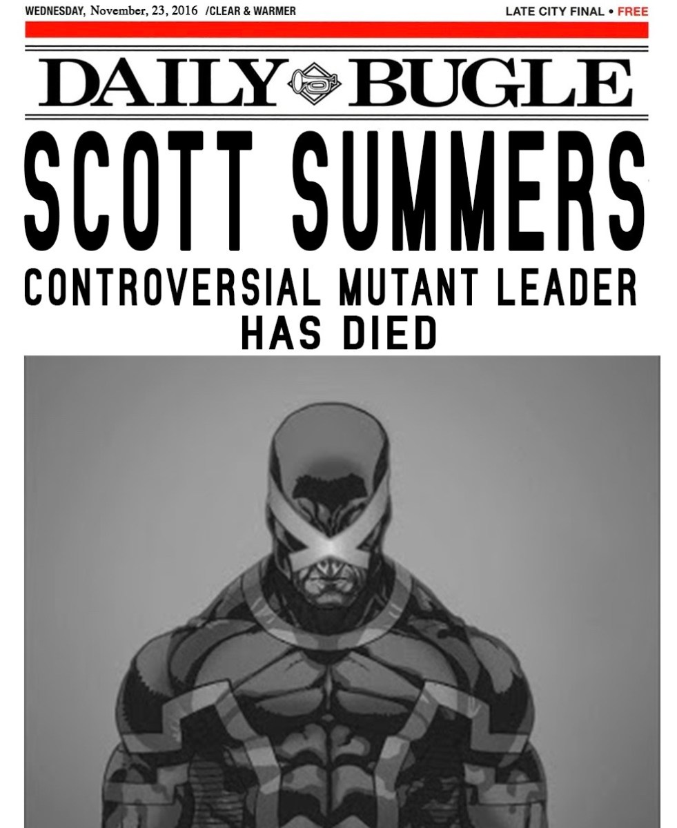 Obituary: Scott Summers, controversial mutant leader, has died
