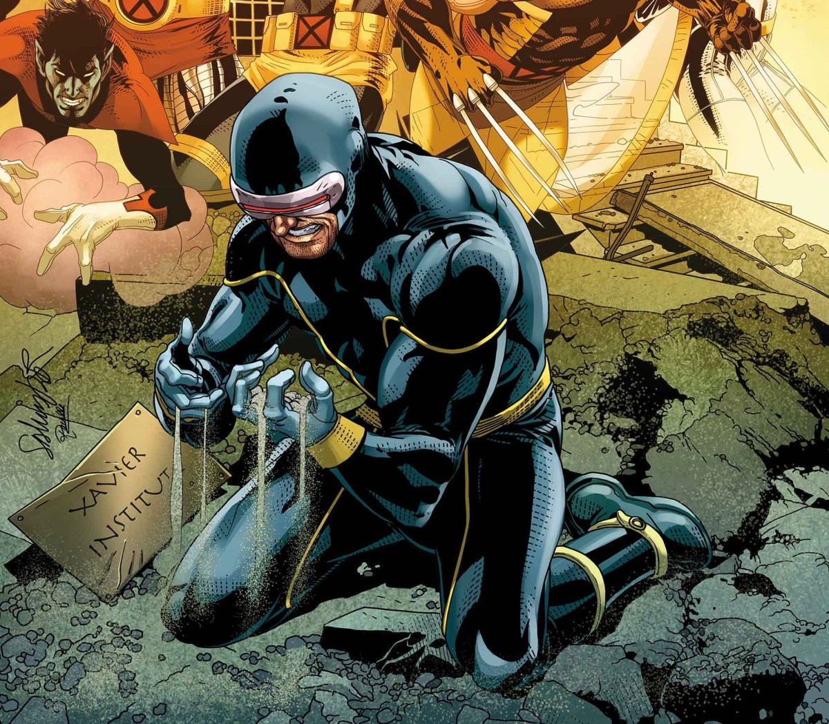 'About redemption and second chances.' Writer Matthew Rosenberg teases Cyclops' return