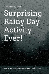 The Best, Most Surprising Rainy Day Activity Ever!