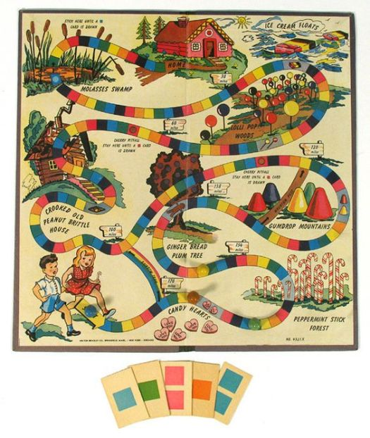 1950's, 1960's, Candy Land, nostalgia