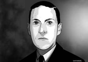 HP Lovecraft Portrait