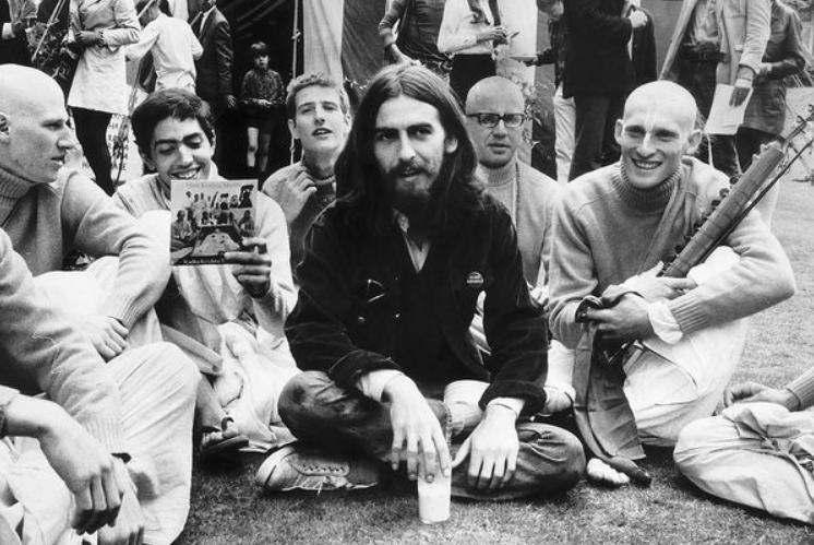 George Harrison hare krishna