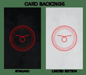 CARD BACKINGS