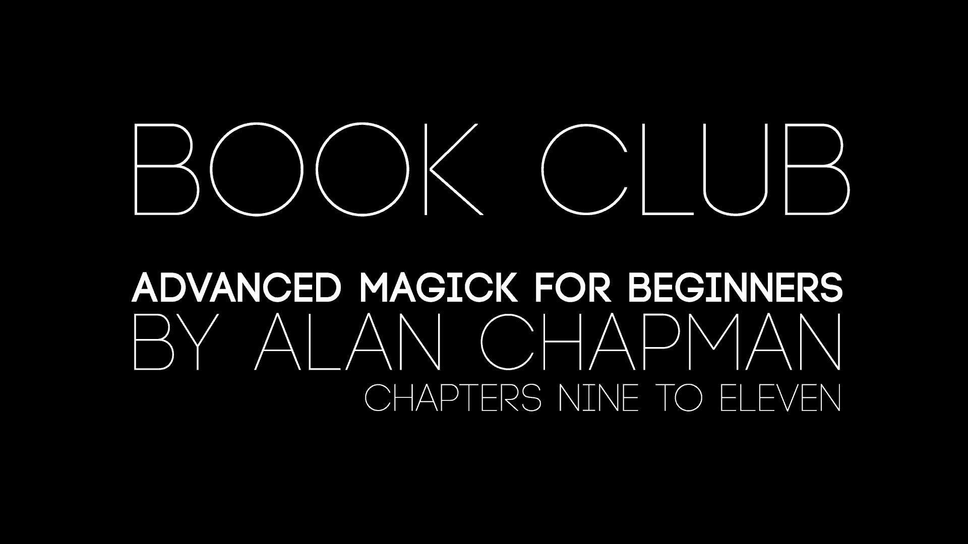 Book Club Week Three
