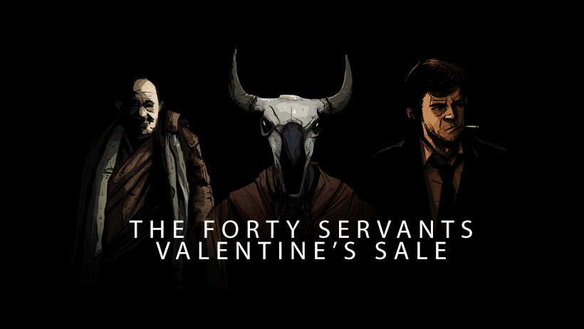 Forty Servants Sale