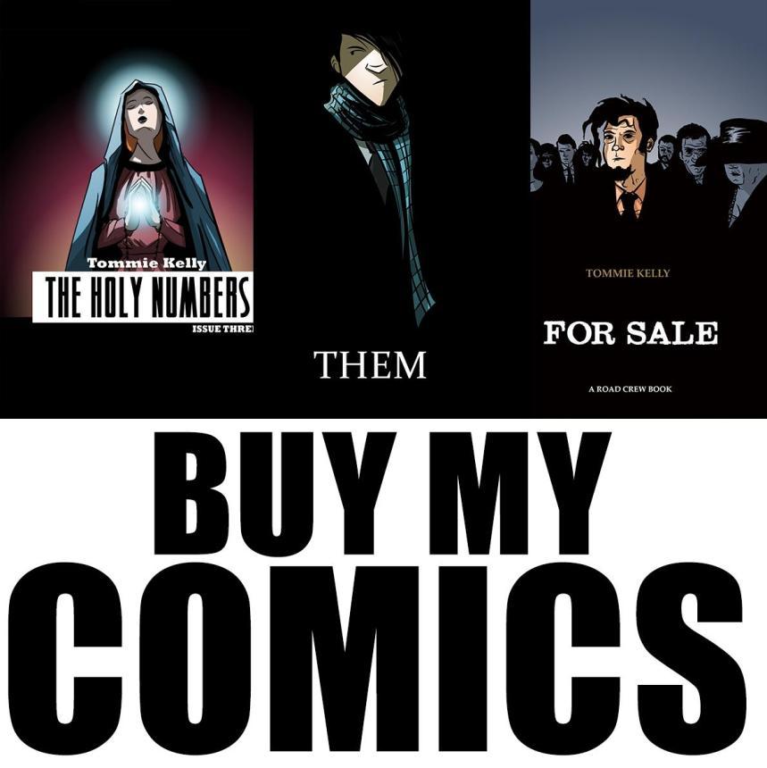 tommie kelly's Comics