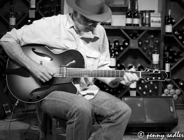 Jason Bucklin on jazz guitar Dallas, Texas @PennySadler 2013