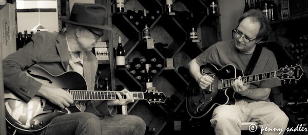 Jason Bucklin and Terry Hankins on guitar Chocolate Secrets @PennySadler 2013