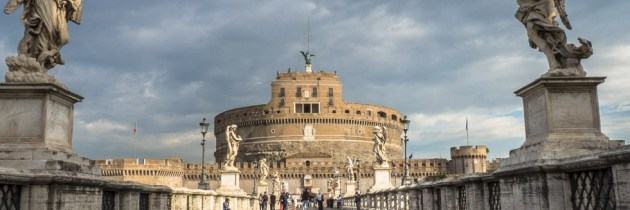 Postcard: Ponte Sant Angelo, Rome