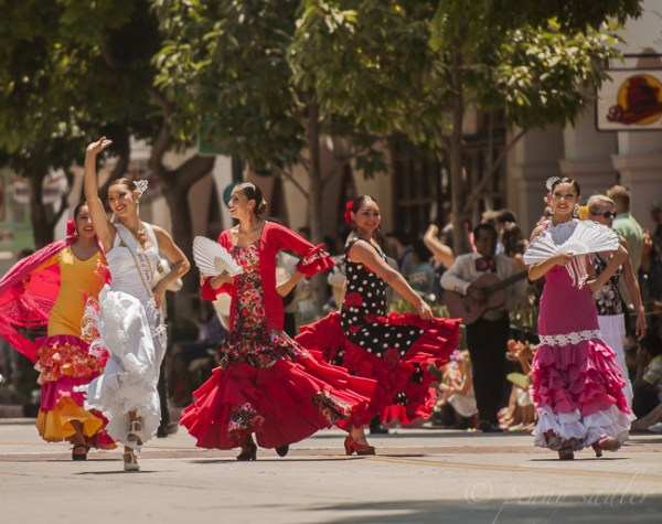 Fiesta Santa barbara photo essay dancers @PennySadler 2014