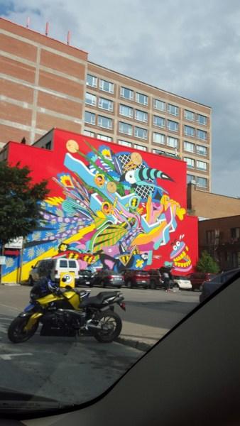 Postcard from Montreal: Street Art