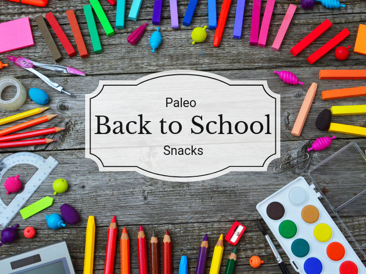 Eating healthy doesn't have to stop when the kids go back to school. Keep them fueled for the days ahead with these paleo back to school snacks.