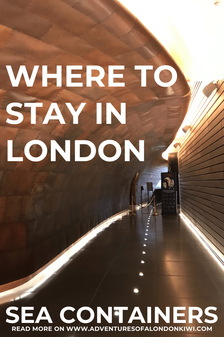 Where to stay in London Sea Containers