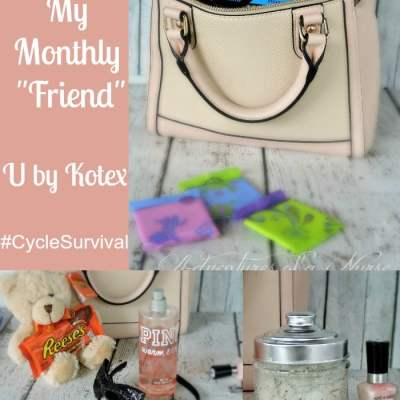 "Surviving My Monthly ""Friend"" with UbyKotex"