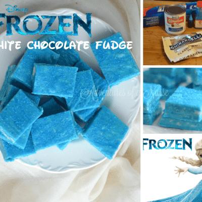 Disney Frozen White Chocolate Fudge