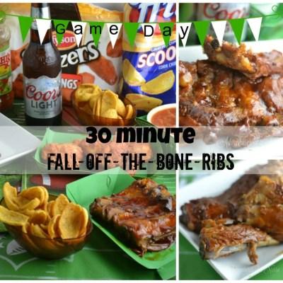 30 minute Fall off the Bone Ribs