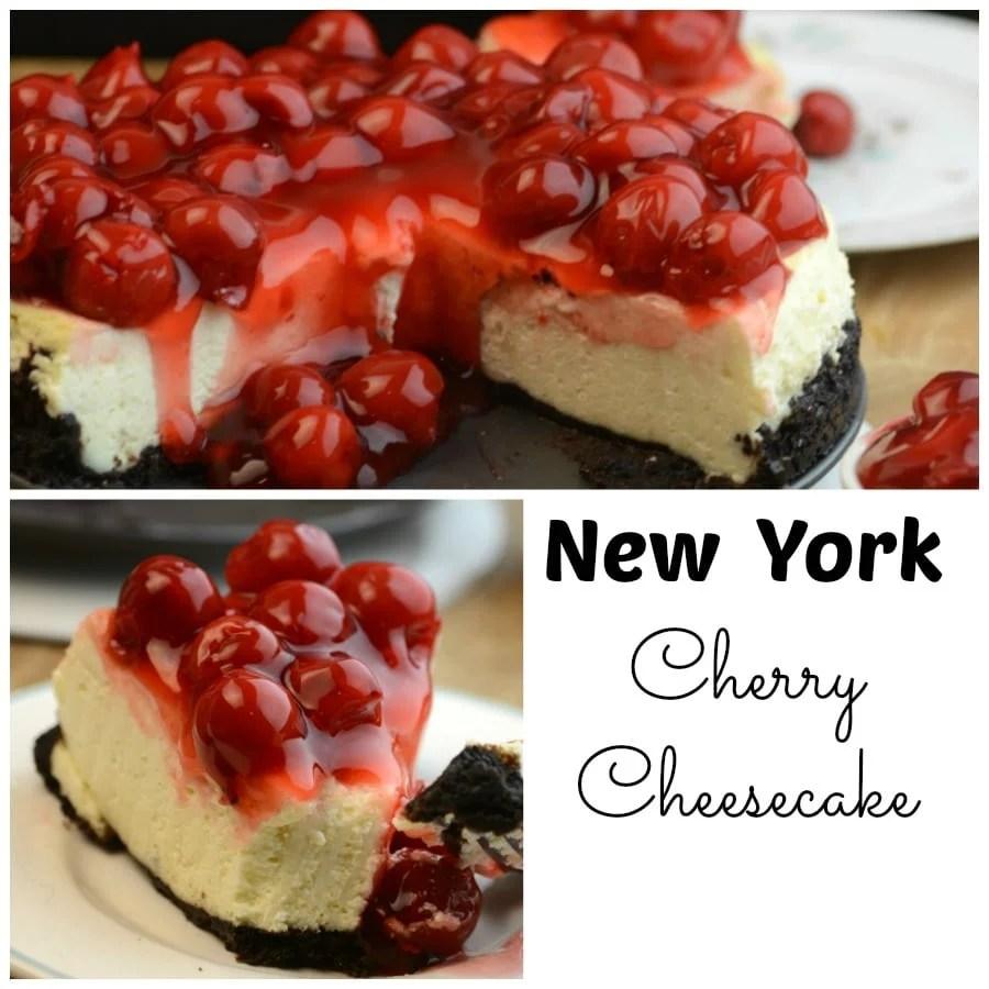 New York Cherry Cheesecake