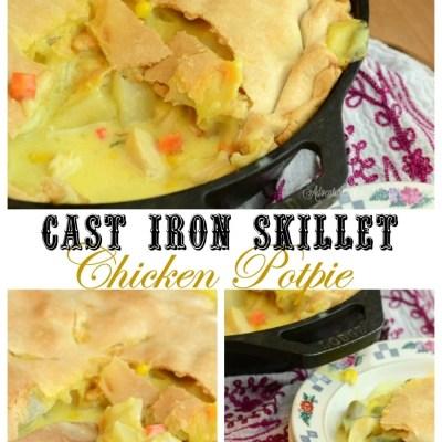 Cast Iron Skillet Chicken PotPie