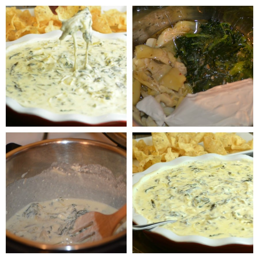 Instant Pot Spinach Dip