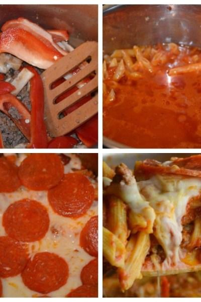 Instant Pot Supreme Pizza Pasta