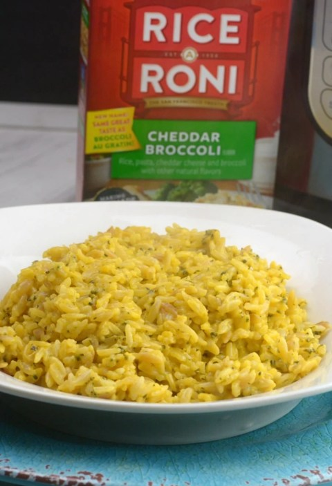 How to make instant pot boxed rice a roni adventures of a nurse how to make instant pot boxed rice a roni ccuart Image collections