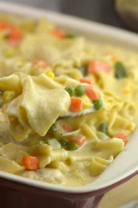 yummy instant pot creamy chicken pot pie