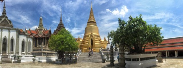 Image of the Grand Palace in Bangkok made with my iPhone.