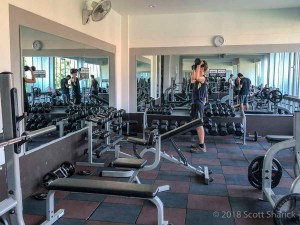 Angkor INter Fitness Gym in Siem Reap is a new facility with modern equipment.