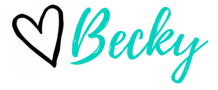 signature of Becky at Adventures of b2