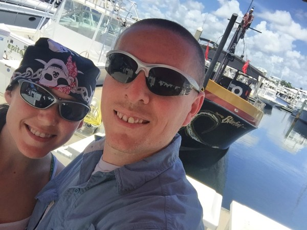 adventures of b2 couple on the pirate adventures in fort lauderdale florida