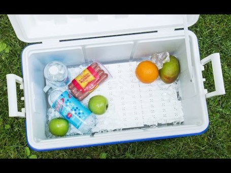 ice chest tray for food