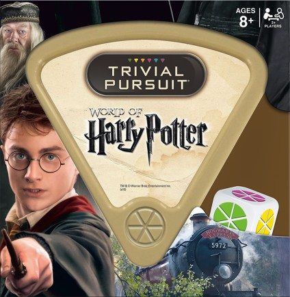 harry potter fans will love harry potter trivial pursuit. Test your wits about your favorite movie and characters with this unique board game. For more great gift ideas, visit adventuresofb2.com