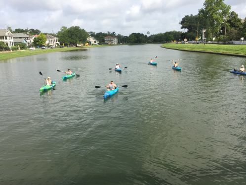 kayaking on the bayou is a great outdoor date you can do here in New Orleans. Learn the history and other information as you paddle along the bayou.