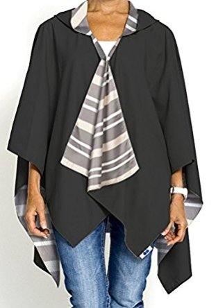 fashionable rain coat