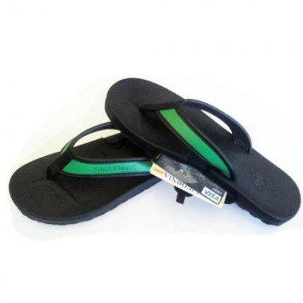 Not a fan of carrying items in your pocket? Carry your personal items secretly in your flipflops! slot flops are the best beach attire for carrying all things of importance, including your feet. For more unique gifts, visit adventuresofb2.com