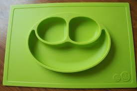 No more plates or bowls flying with food to the floor anymore! These suction mats are portable mats with a compartmentalized plate on top. It's perfect for going out to dinners or vacations or even using at home to avoid food disasters with your child. For more unique gifts, visit: adventuresofb2.com