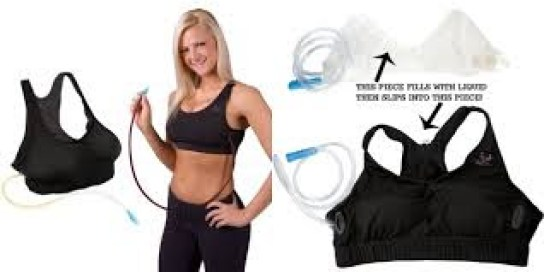 wine rack bra is perfect for sporting events and other parties. This pouch fits a whole bottle of wine into your bra. It's not only comfortable but increases your bust size up to two sizes! For more great gift ideas! Visit adventuresofb2.com