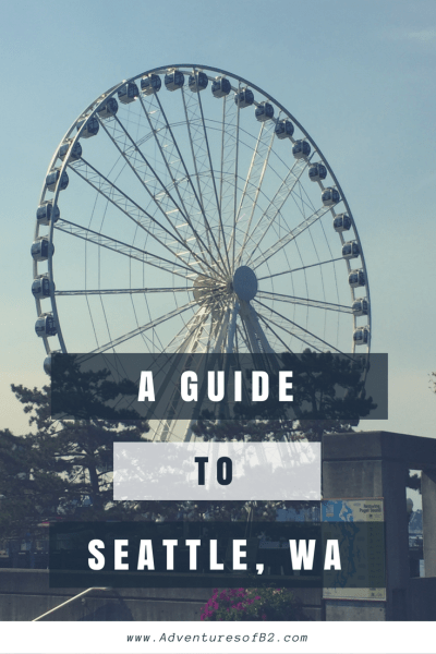 guide to seattle washington pin