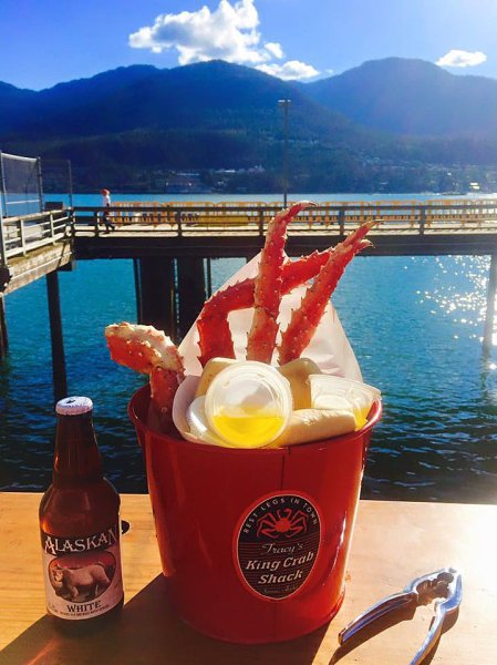 Courtesy of king crab shack juneau alaska