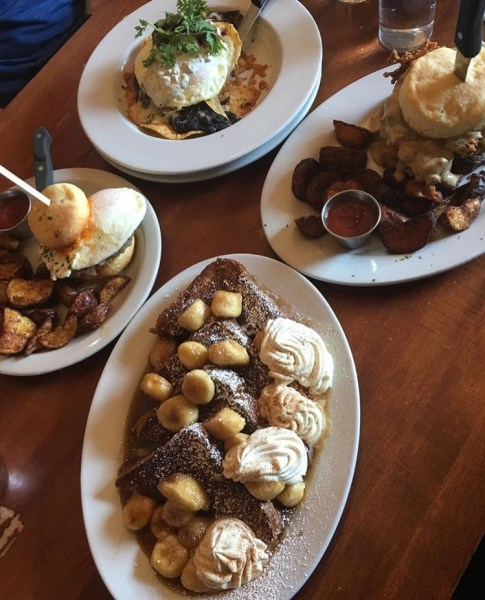 Some of the amazing breakfast items you can get at the screen door restaurant in portland oregon. See other great places to eat over at adventuresofb2.com