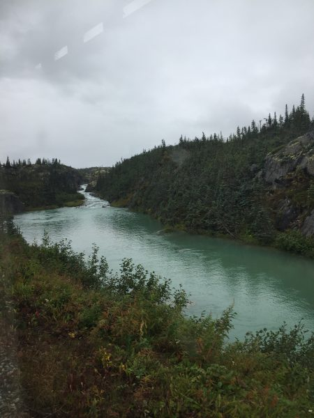 glacier water in skagway alaska