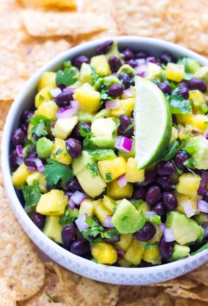 Pineapple-Avocado-Bean-Salsa