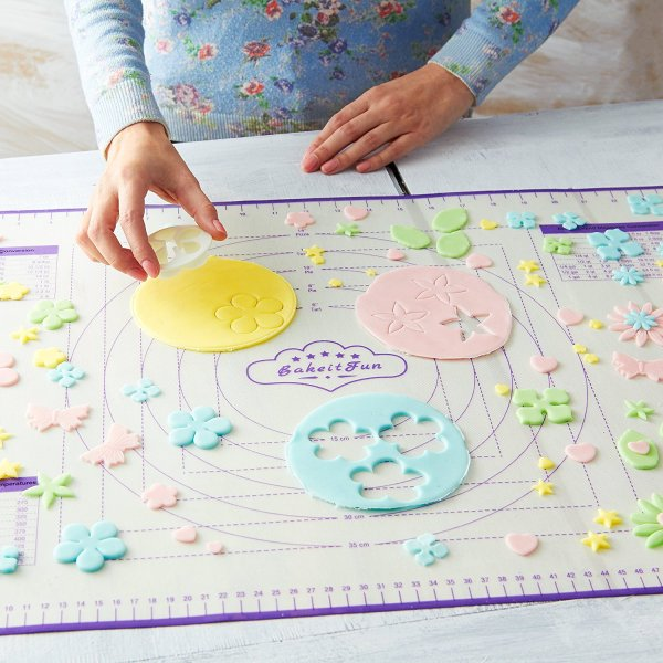 fondant baking mat