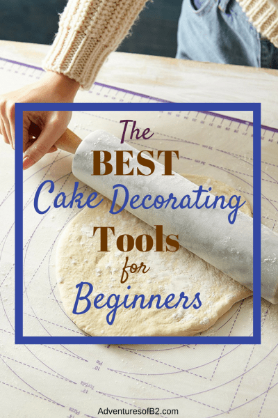 The best cake decorating tools for beginner bakers.