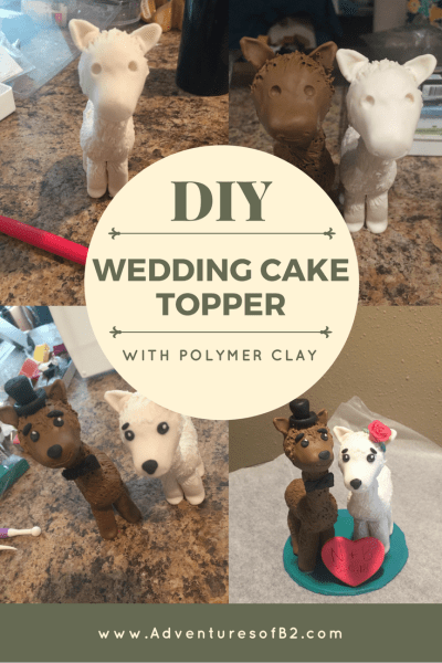 DIY llama cake topper using polymer clay is an amazing alternative for a cake topper. Perfect keepsake to last a lifetime.
