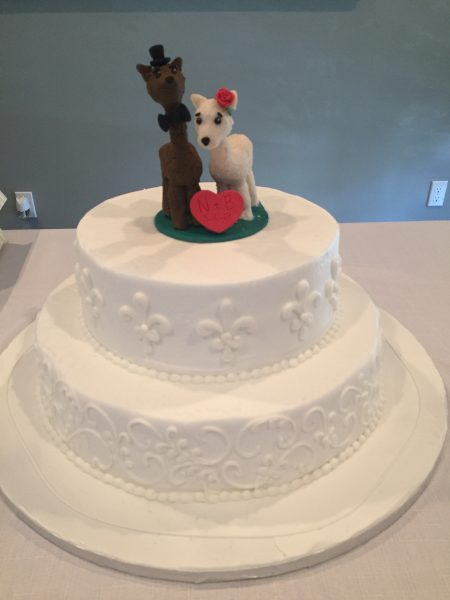 llama wedding cake topper using polymer clay is a perfect way to express your personality and have a keepsake to last a lifetime