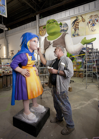 Mardi Gras world takes you on a tour while artists are busy at work. They work year round on mardi gras floats which makes this a truly unique site to see.